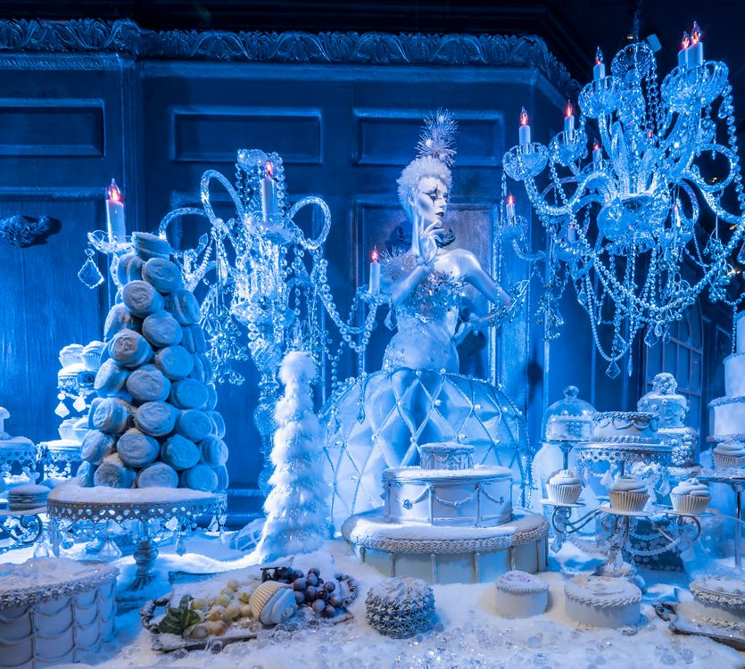 Фото бесплатно Ледяная принцесса, рождество, комната льда - на рабочий стол