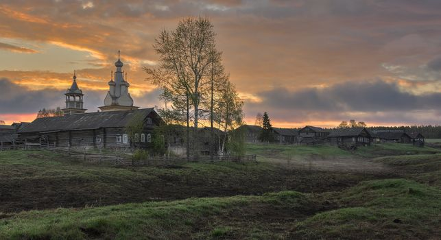 Photo free Arkhangelsk region, der Kimzha, Russia