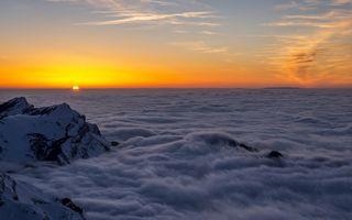 Фото бесплатно фон, туман, пейзаж