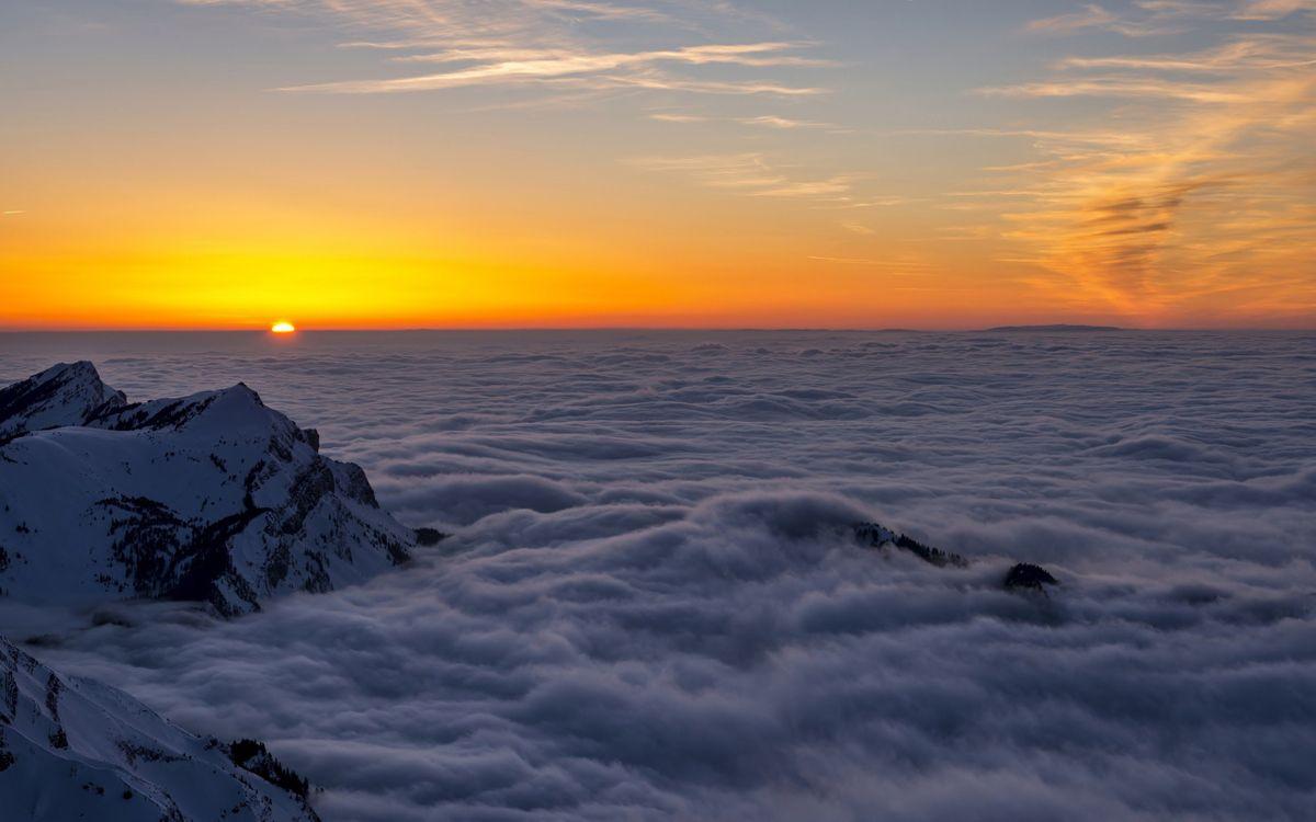 Фото бесплатно фон, туман, пейзаж - на рабочий стол