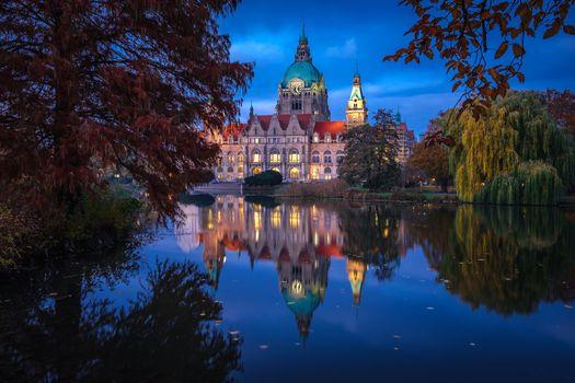 Фото бесплатно Новая ратуша, Мюнхен, Германия