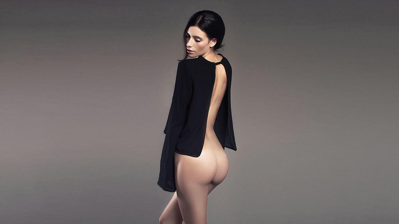 Фото бесплатно alejandra guilmant, модель, загорелые, бедра, черные волосы, задница, плохое качество, эротика