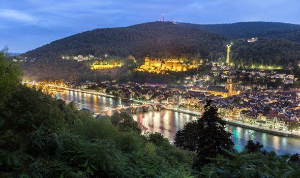Photo free cityscape, Baden-Wurttemberg, Heidelberg
