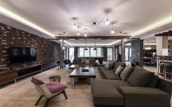 Photo free art nouveau, design, living room