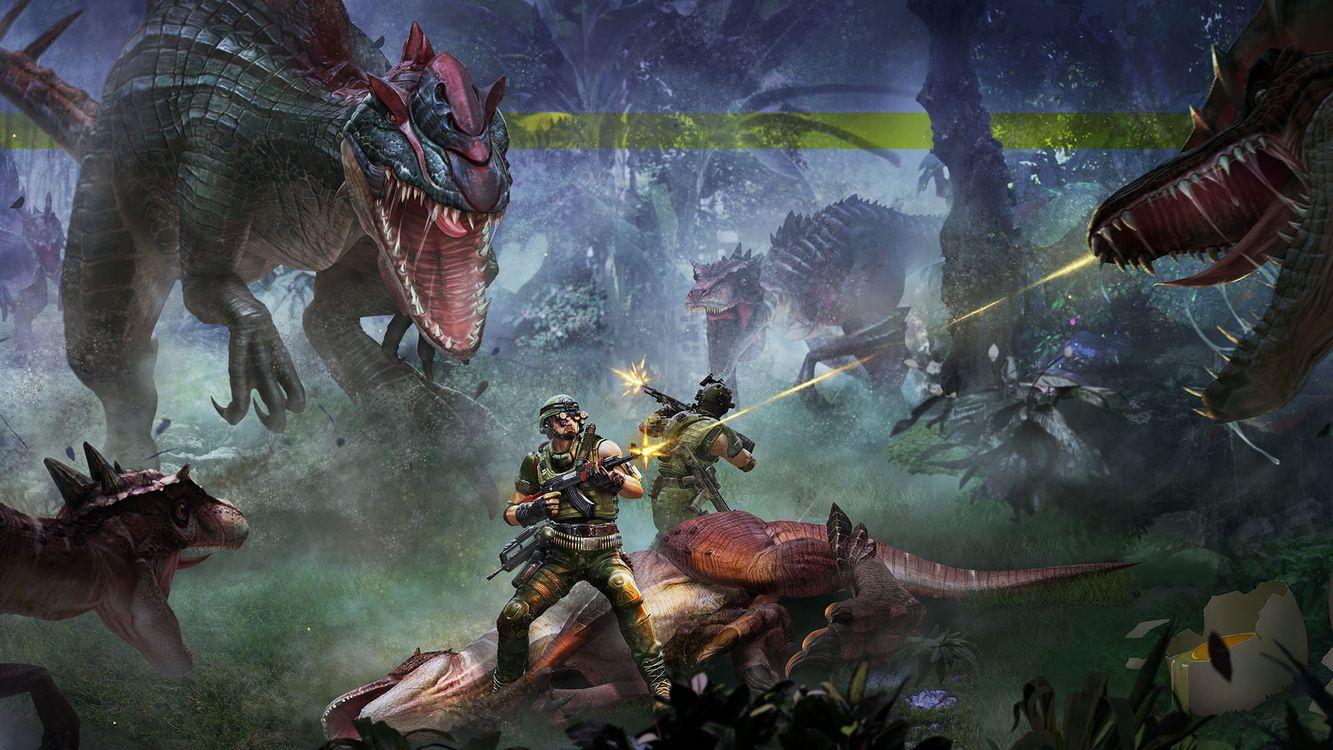 Фото бесплатно зомби монстров роботы, динозавры, лес - на рабочий стол