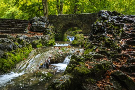 Photo free Swabian ALB mountains, bridge, forest