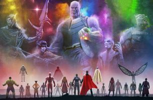 Photo free Avengers Infinity War, Superheroes, Artwork