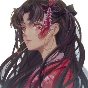 Заставки Тосака Рин, каштановые волосы, судьба великого ордена