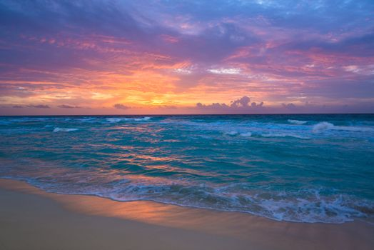 Фото бесплатно песок, океан, восход