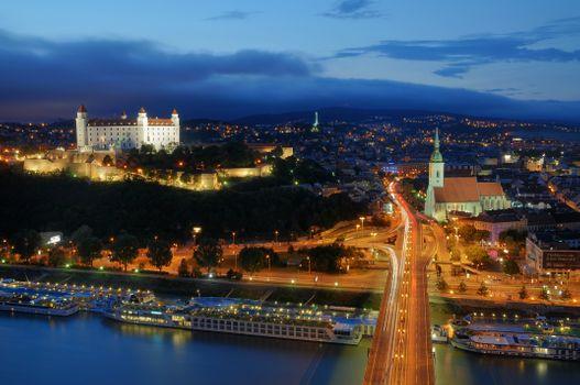 Night Slovakia · free photo