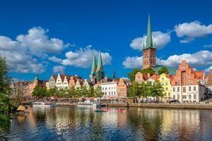 Фото бесплатно Любек, Германия, Ганзейский город Любек