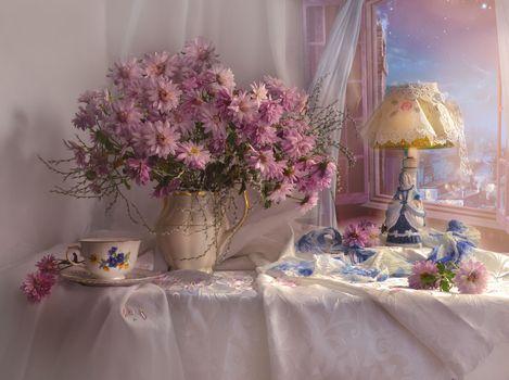 Photo free vase, bouquet, bulb