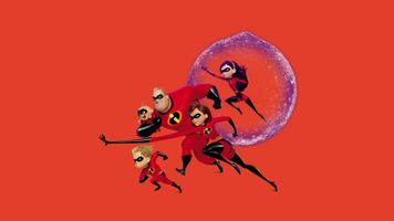 Заставки Poster, Animated Movies, The Incredibles 2