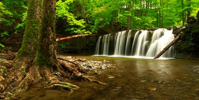 Waterfalls on the website · free photo