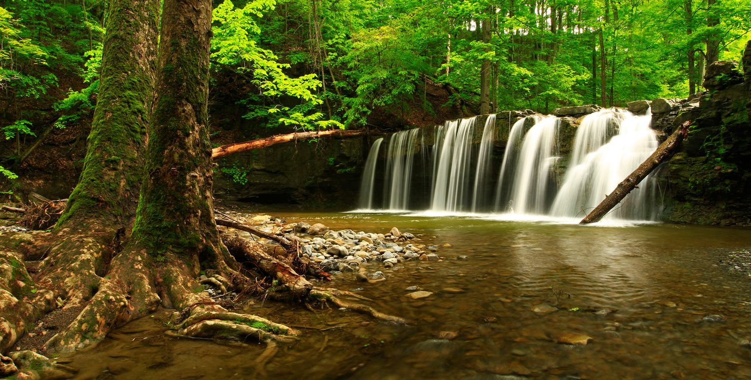 Водопады на сайте · бесплатное фото