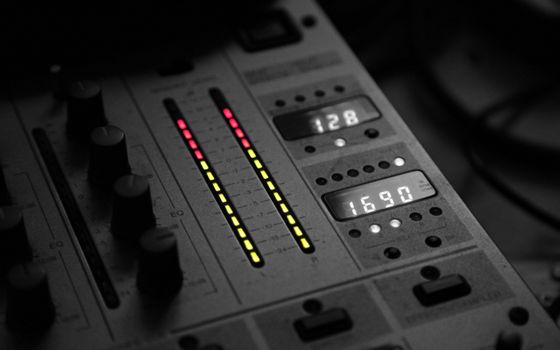 Заставки черный, свет, музыка