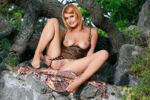 Фото бесплатно голая, поза, Violla A