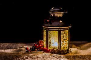 Бесплатные фото зима,снег,рождество,фонарь,лампа,свеча,огонь