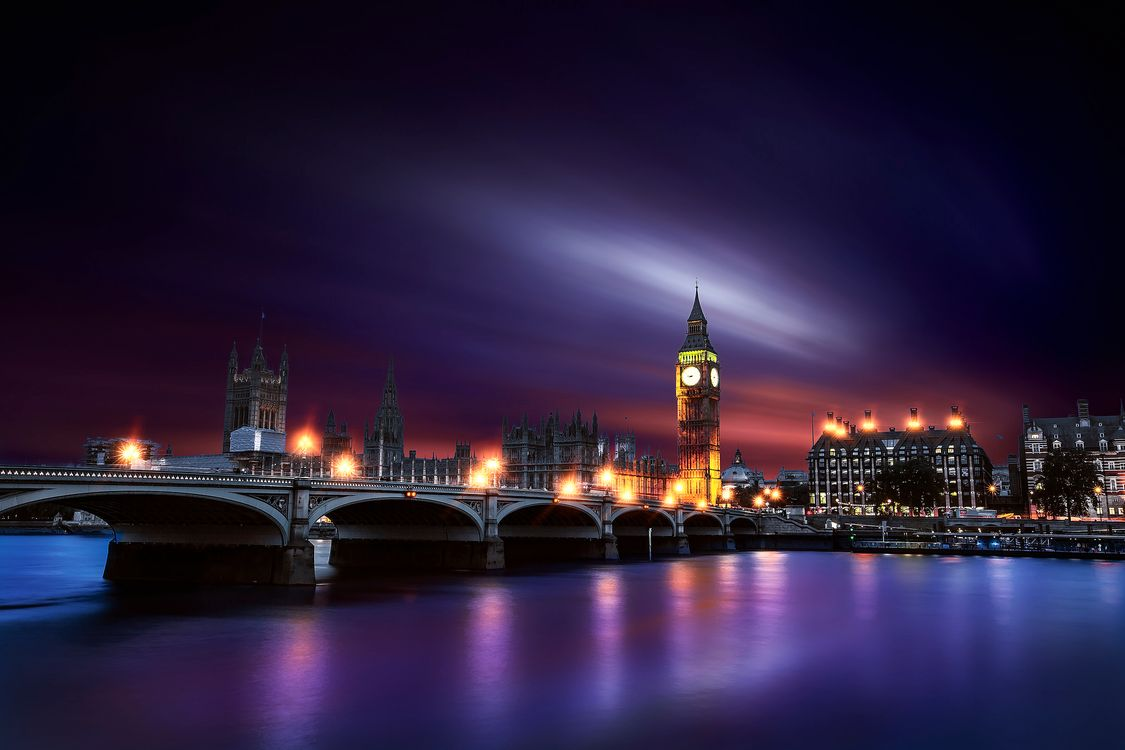Free photo Big Ben, London City, Westminster - to desktop