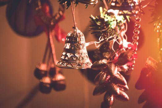 Фото бесплатно рождество, колокольчик, рождественские украшения