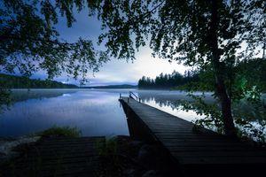 Фото бесплатно мост, пейзаж, сумерки