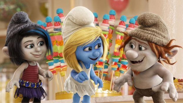 Photo free Smurfette, cartoons, animation