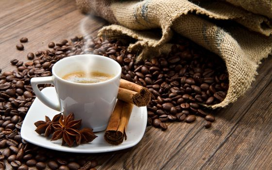 Фото бесплатно зерна, напитки, кофе