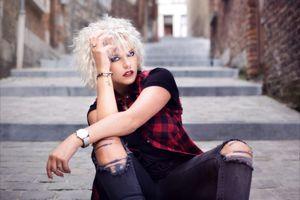 Фото бесплатно гламур, блондинка, макияж