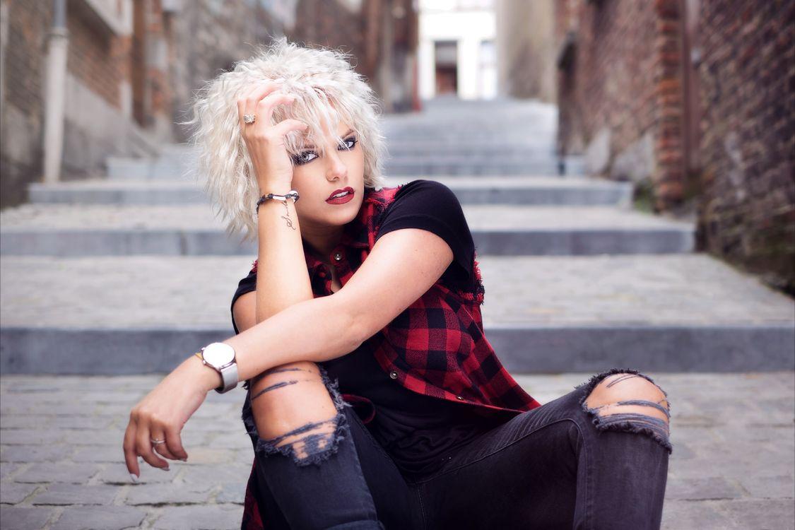 Фото бесплатно гламур, блондинка, макияж - на рабочий стол