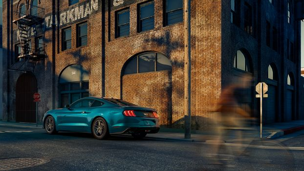 Photo free Ford Mustang, Ford, 2019 cars