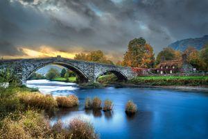 Фото бесплатно Llanrwst, пейзаж, Конви