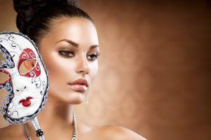 Заставки маска, девушка, стиль