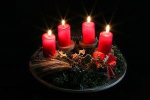 Фото бесплатно свечи, украшения, элементы