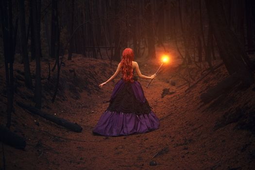 Photo free forest, darkness, girl