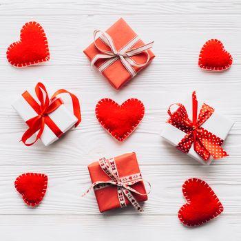Заставки подарки, сердечки праздник, валентинка