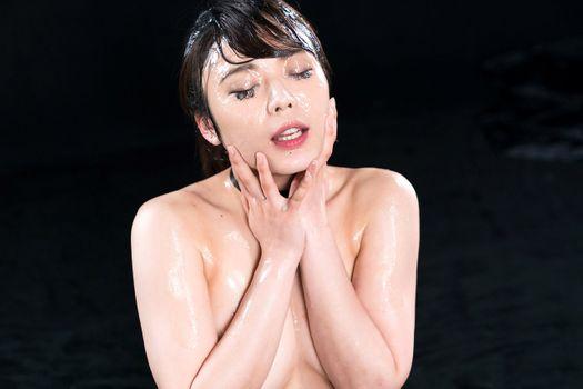 Бесплатные фото японка,Азии,сперма,буккаке,смазанная,сперма на лице