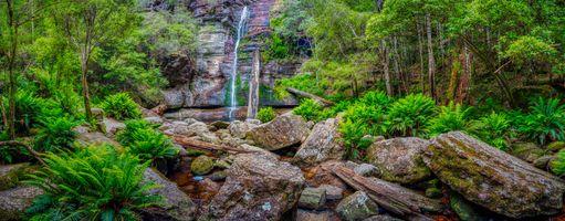 Фото бесплатно Snug, природа, Snug Falls