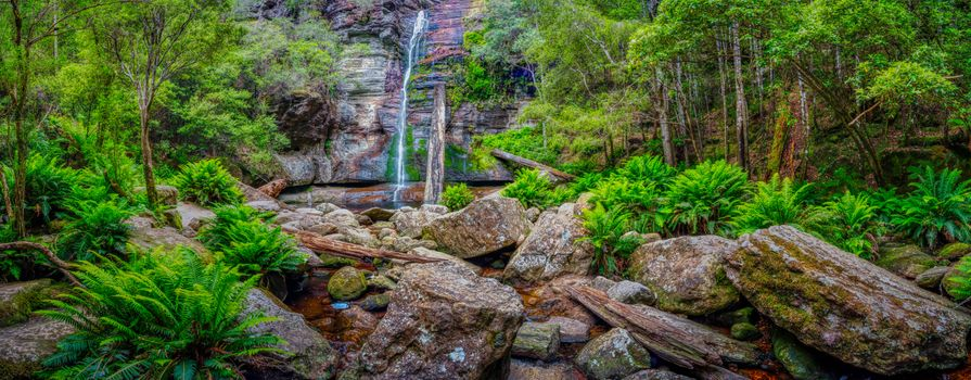Заставки Snug Falls,Snug,Tasmania,Australia,панорама,водопад,скалы,камни,природа,пейзаж