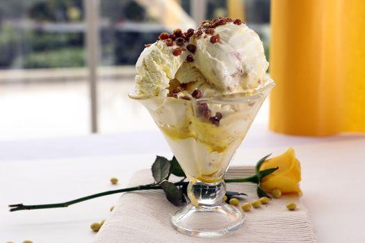 Заставки мороженое, десерт, пища