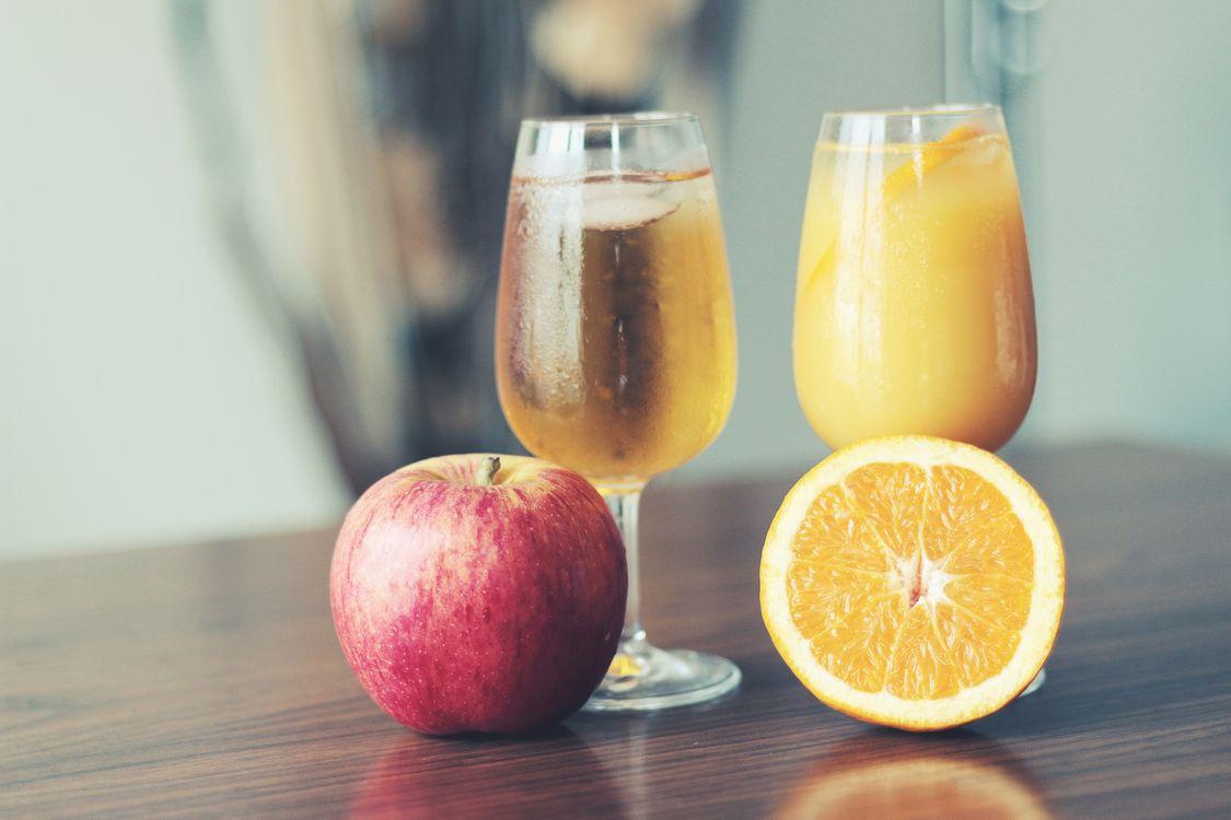 Фото бесплатно яблочный сок, фрукты, стекло - на рабочий стол