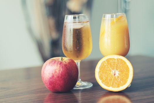 Photo free Apple juice, fruits, glass