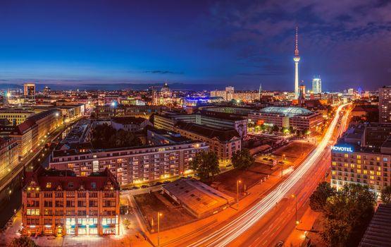 Красивая заставка германия, берлин