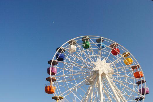 Фото бесплатно небо, отдых, колесо обозрения