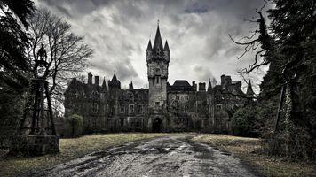 Фото бесплатно заброшенный дворец, замок, здания