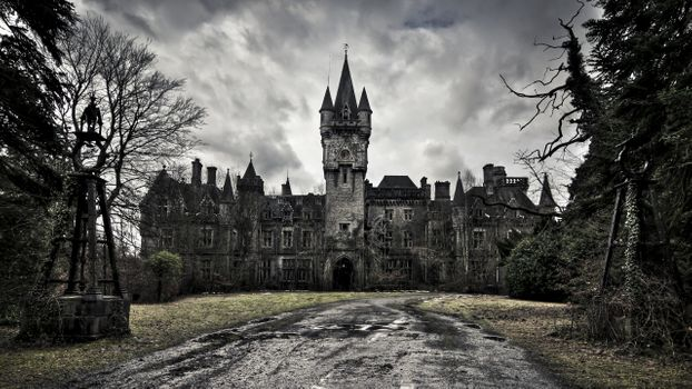Photo free deserted Palace, castle, building