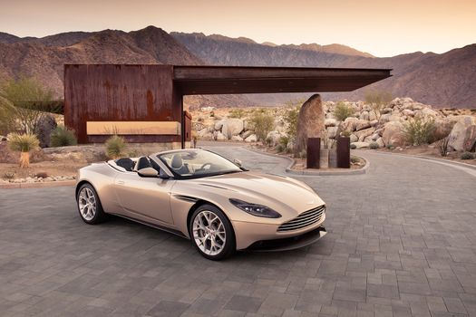 Photo free Aston Martin Db11 Volante, convertible, Texas
