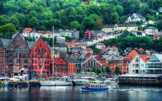 Фото бесплатно Hanseatic Museum, Bergen, Norway