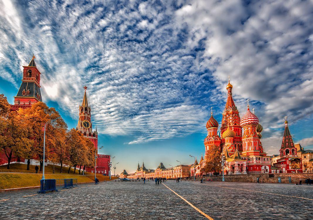 Фото бесплатно Красная площадь, Москва, Россия - на рабочий стол