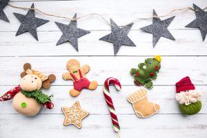 Фото бесплатно праздник, пряники, конфеты