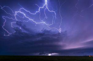 Фото бесплатно Kansas, молния, шторм